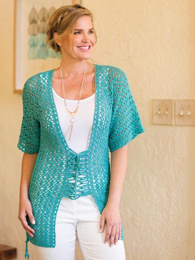 Crochet Lace It Up Kimono Cardi Crochet Pattern Ac04637