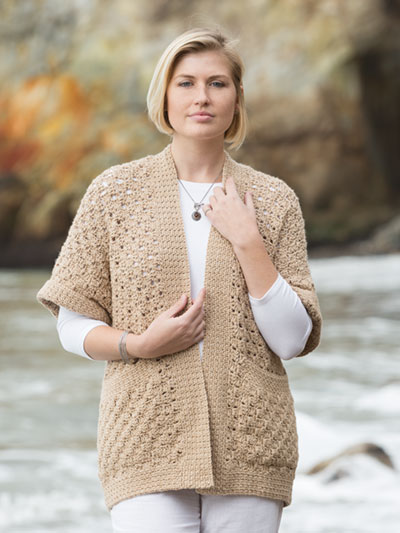 Crochet Cardigan Jacket Vest Patterns Page 1