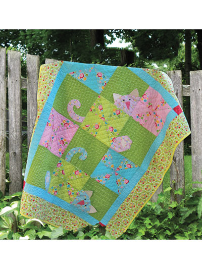 Peek a Boo Kitty Quilt Pattern