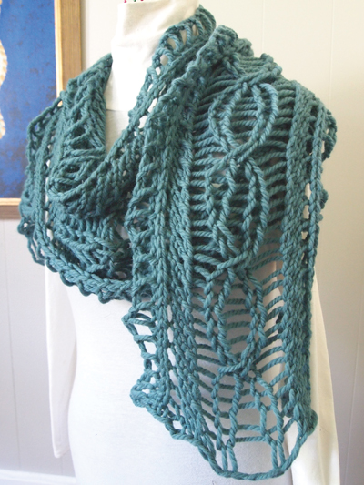 Quick Easy Scarf Wrap Knitting Patterns Page 1