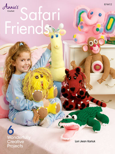 Crochet animal Safari Friends Patterns