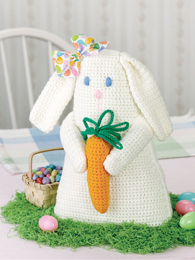 Tabletop Bunny Crochet Pattern