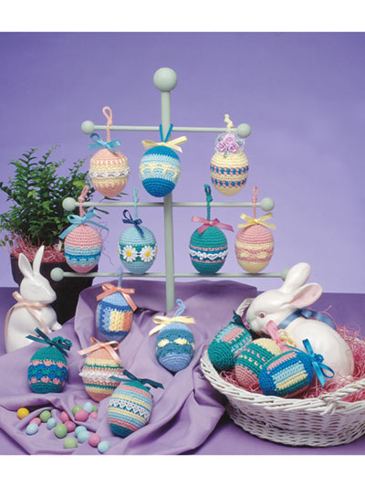 Crochet Country Easter Eggs Pattern