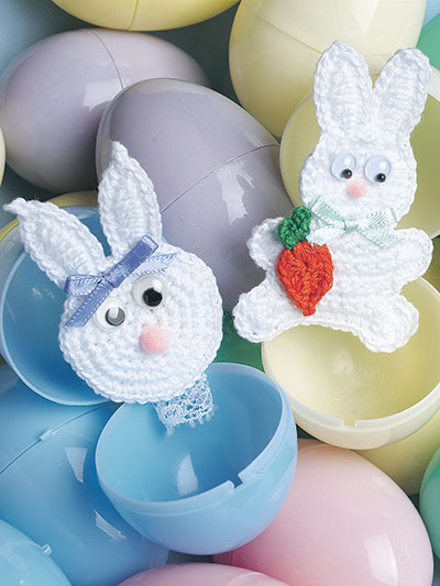 Bunny Pins Crochet Pattern