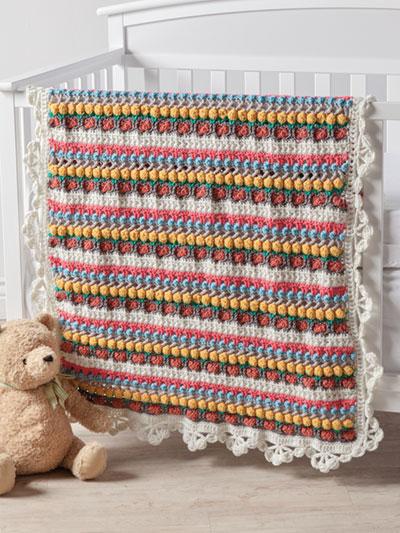 Crochet Afghan Downloads Fluffy Clouds Blanket