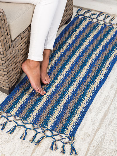 Beach House Rug Knit Pattern