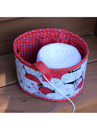 Yarn Bowl Sewing Pattern
