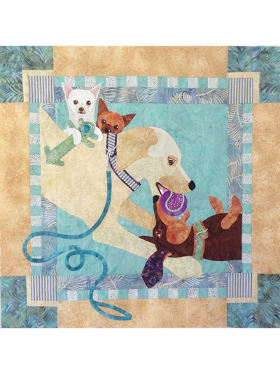 Go Fetch! Wall Hanging Pattern