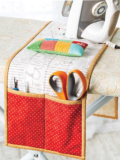 Sewing Machine Cover Pattern Ironing board pin cushion