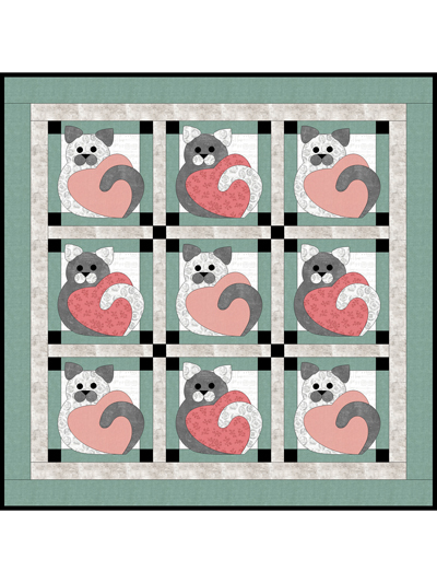 Kitty Corner Quilt Pattern