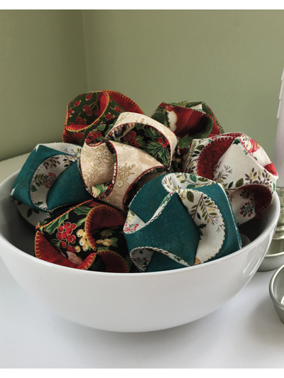 Holiday Baubles Sewing Pattern