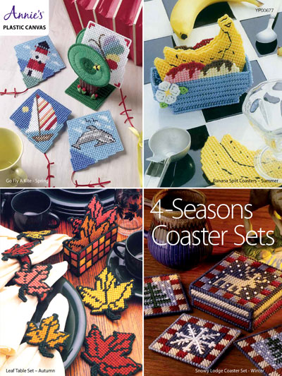 4-Seasons Coaster Sets Pattern