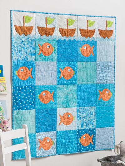 Applique Baby Quilt Patterns & Kids Quilt Designs - Page 1