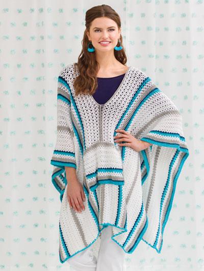 Zayna Baha Poncho Crochet Pattern