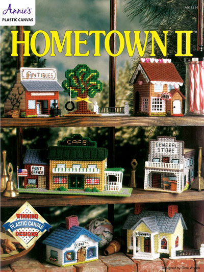 Hometown II Plastic Canvas Pattern