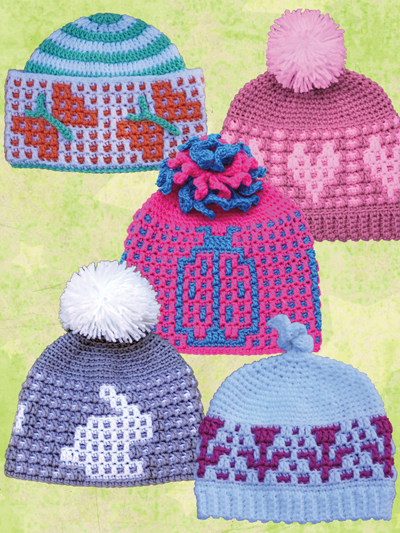 dfce15912 Crochet Hats & Gloves - Crochet Accessory Patterns - Page 1