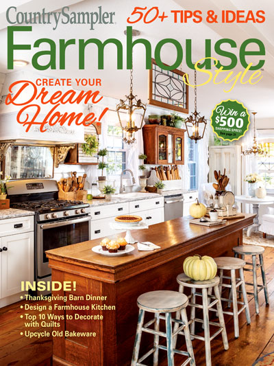 Arts Crafts Country Sampler Farmhouse Style Autumn 2019