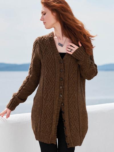 Irpa Cardigan Knit Pattern