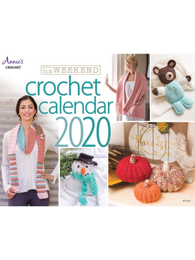 Crochet in a Weekend 2020 Calendar