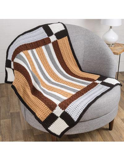 Farmhouse Sampler Throw Crochet Pattern