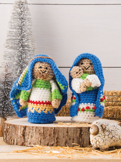 Christmas in July – Knit and Crochet Nativity Sets – free patterns ...   533x400