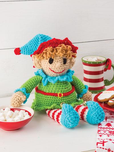 The Elf on The Shelf - Naughty Amigurumi Elf Free Crochet Pattern ... | 533x400