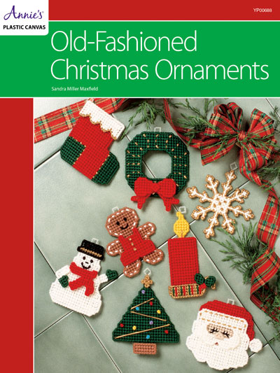 Old-Fashioned Christmas Ornaments Plastic Canvas Pattern