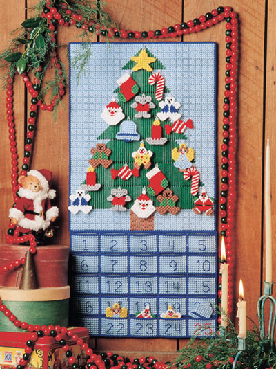 Advent Calendar Plastic Canvas Pattern