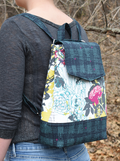 Izzie Convertible Backpack Sewing Pattern or Hardware Kit
