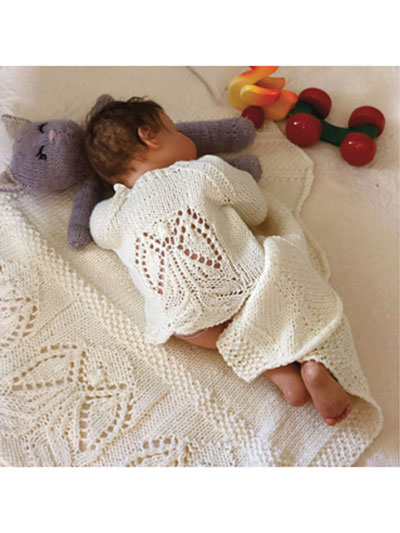 Angels Around Me Sweater Knit Pattern