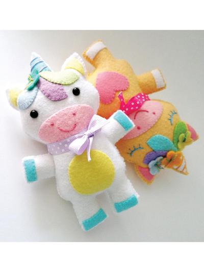 Unicorn Softie Toy Sewing Pattern