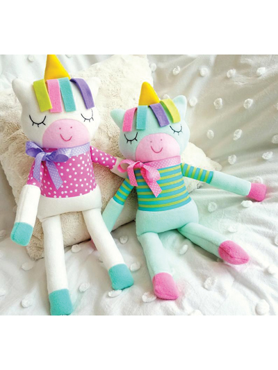 Sleepy Unicorn Softie Sewing Pattern