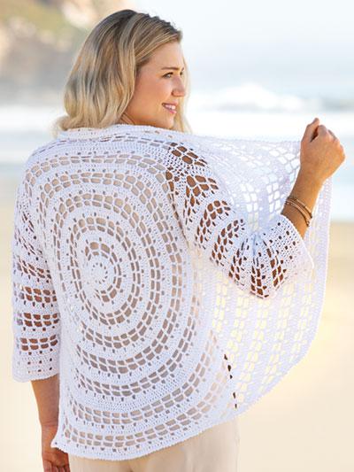 ANNIE'S SIGNATURE DESIGNS: Summer Circles Cardi Crochet Pattern
