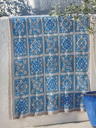 ANNIE'S SIGNATURE DESIGNS: Joyous Afghan Crochet Pattern