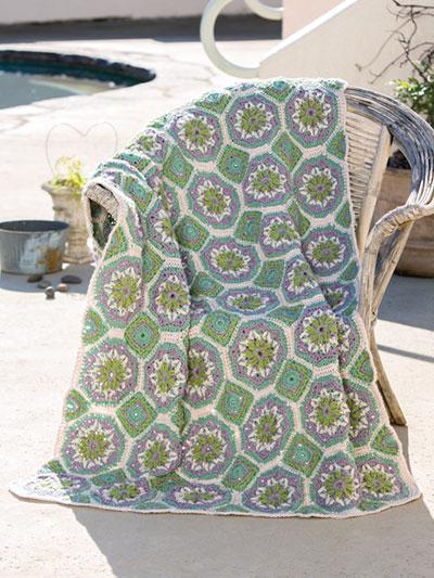 ANNIE'S SIGNATURE DESIGNS: Spanish Tiles Crochet Pattern