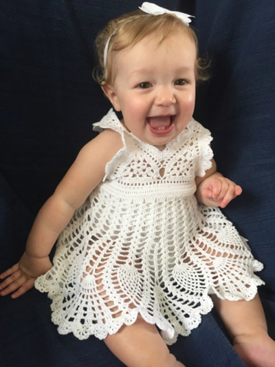 Baby Girl Sundress Crochet Pattern