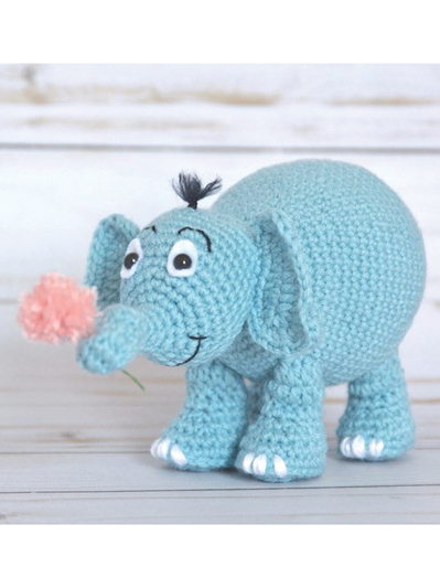 Cuddle Me Elephant crochet pattern - Amigurumi Today | 533x399