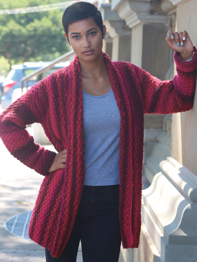 Easy to knit jacket pattern