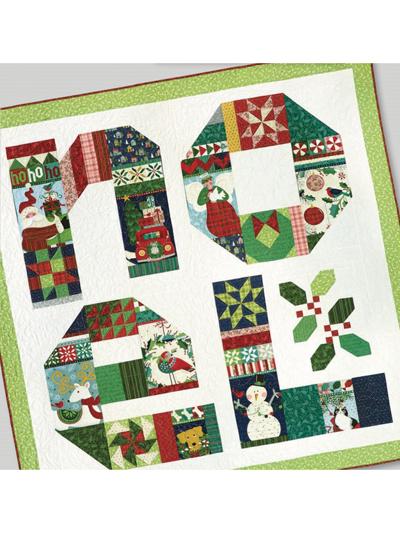 Christmas Winter Quilt Patterns Noel Sampler Panel Quilt Pattern