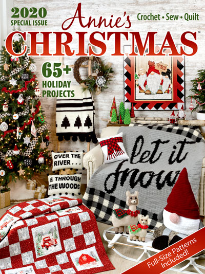Crochet Pattern Christmas 2020 Crochet Patterns   Annie's Christmas Special 2020
