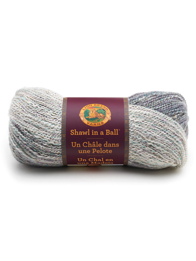 Shawl in a Ball Yarn Lion Brand Peaceful Earth