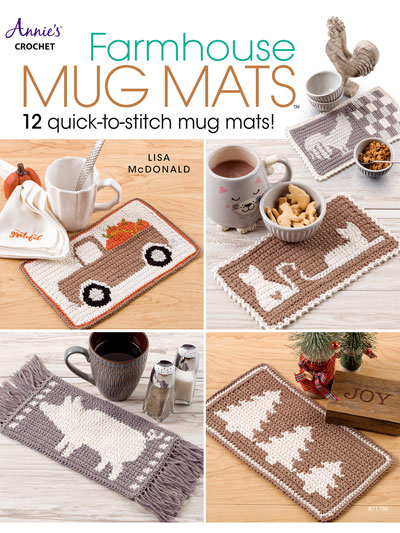 Farmhouse Mug Mats