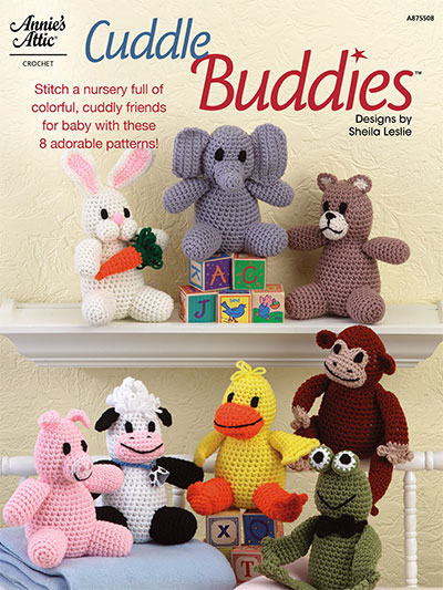 Cuddle Buddies Animals to Crochet for a Nursery or Baby Room