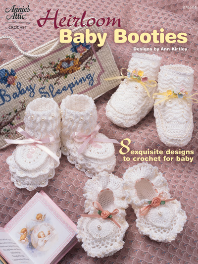 Knitting Patterns Supplies Heirloom Baby Booties