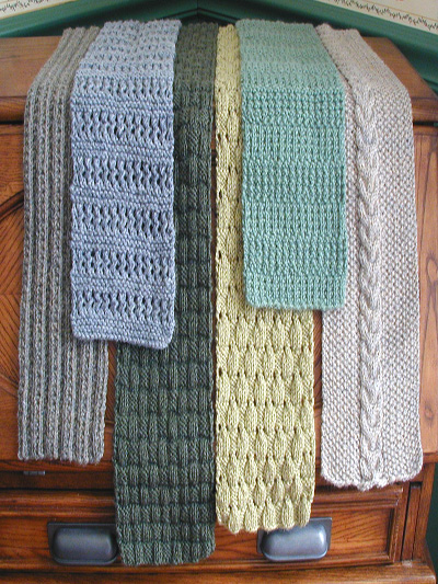 Quick Easy Knitting Patterns 6 Simple Scarves Pattern