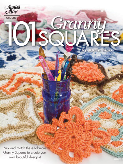 101 Granny Squares - Crochet Granny Square Patterns