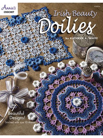 Crochet Doily Patterns Irish Beauty Doilies Crochet Pattern Book