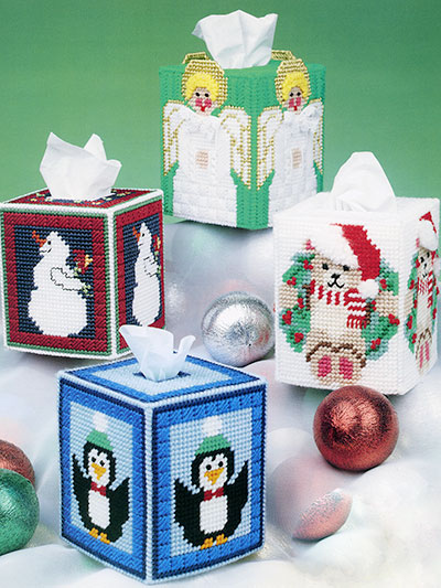 Seasonal Tissue Box Covers