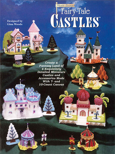 Fairy-Tale Castles Plastic Canvas Patterns