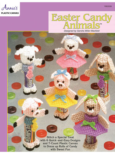 753430e5d Easter Candy Animals Plastic Canvas Pattern